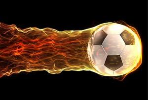 футаж футбольного мяча