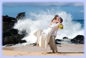 свадьба-море
