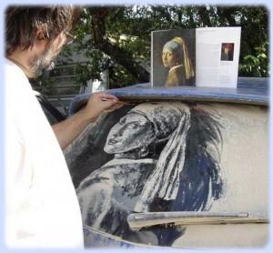 рисунок на авто